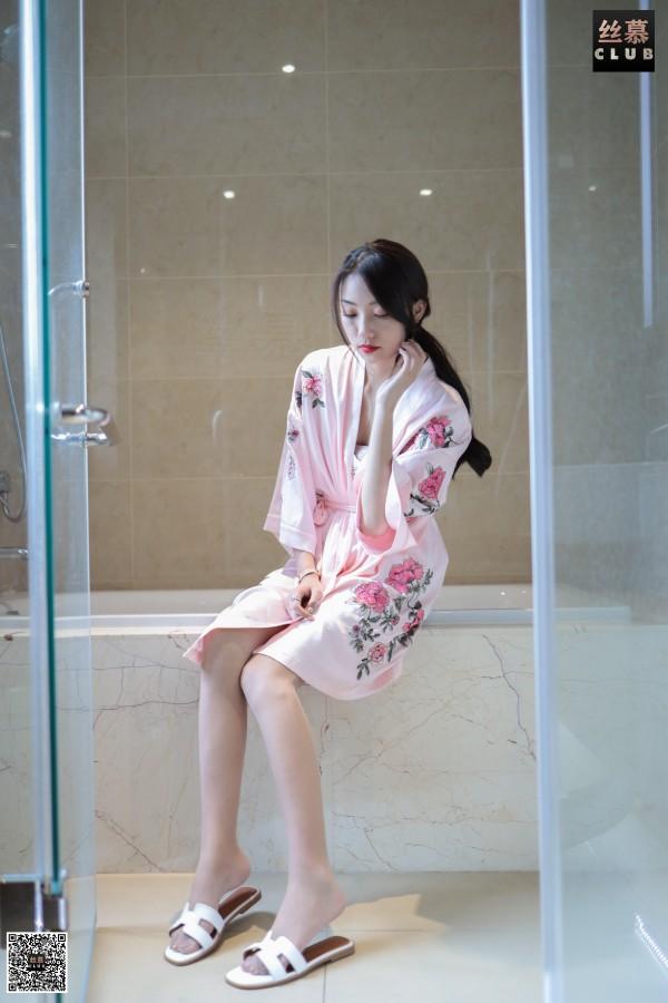 丝慕GIRL SM074 《诗晴-睡袍-浴缸》