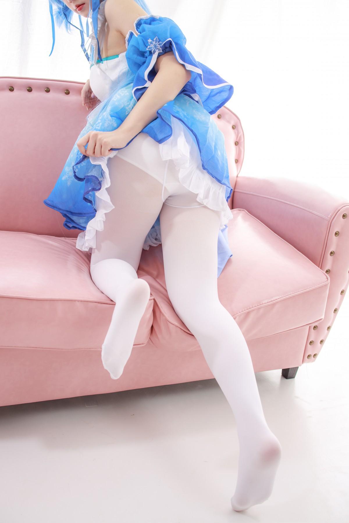 森萝财团 JKFUN-023 300D白丝 雪晴