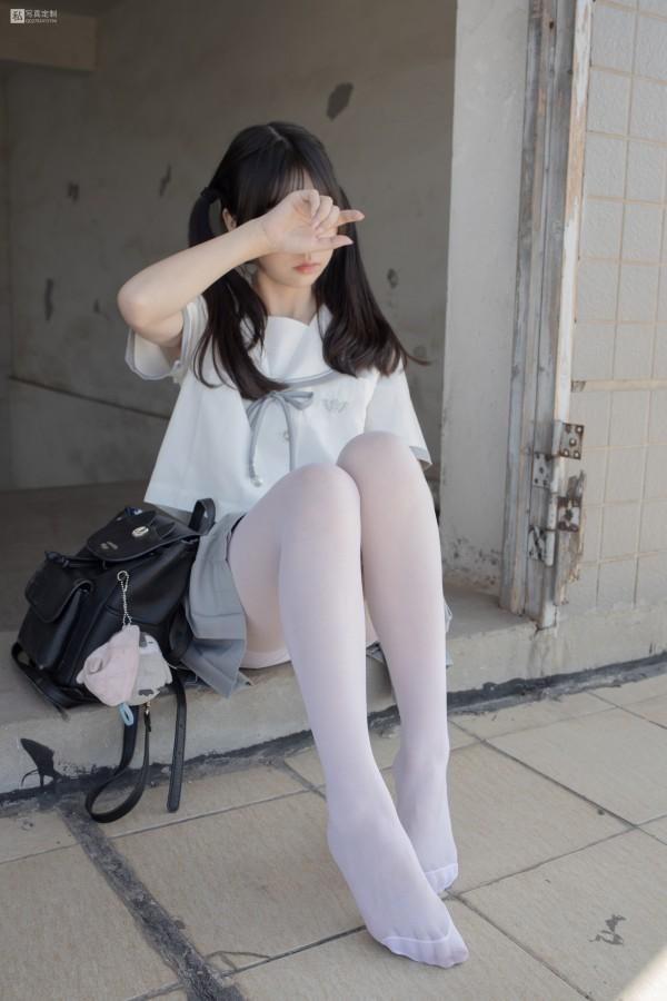 森萝财团 JKFUN-028 抑郁湖边与绝望天台 15D白丝 默陌