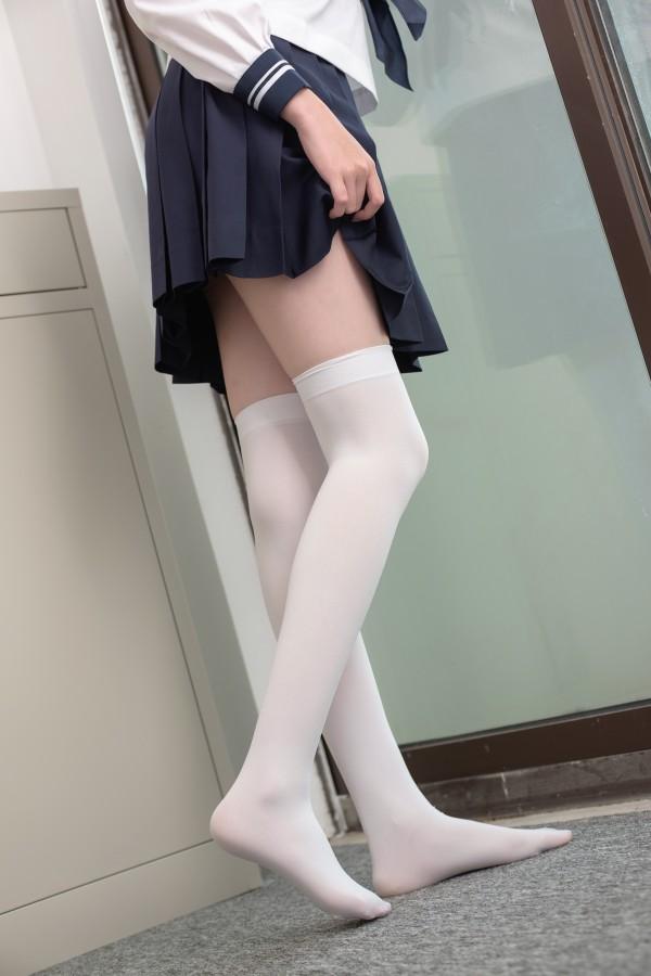 森萝财团 SSR-002 白丝水手服
