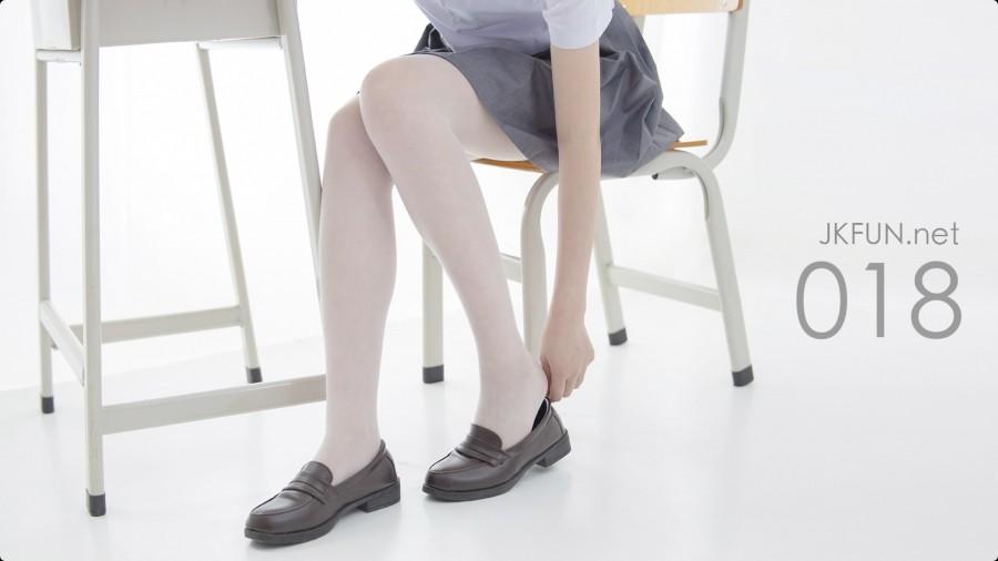 森萝财团 Video JKFUN-018 15D超薄白丝