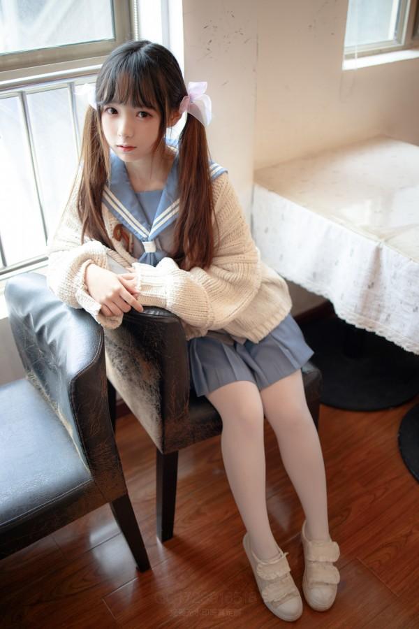 森萝财团 X-061 80D薄白丝