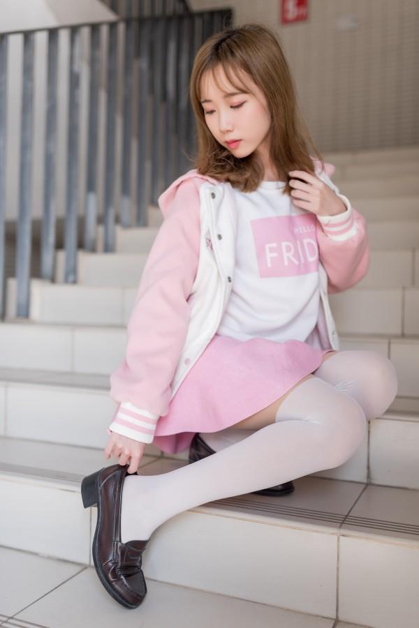 风之领域 No.026 《粉色系校花女神》