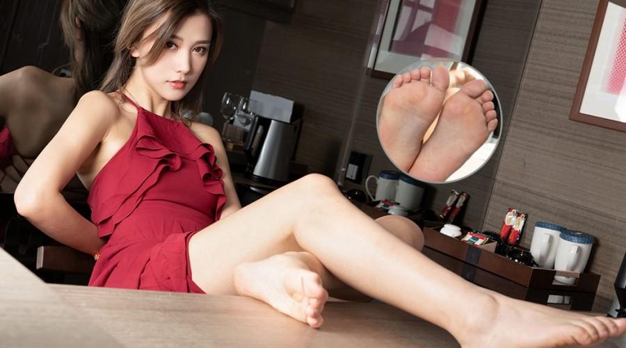 KelaGirls 长裙肉脚脚