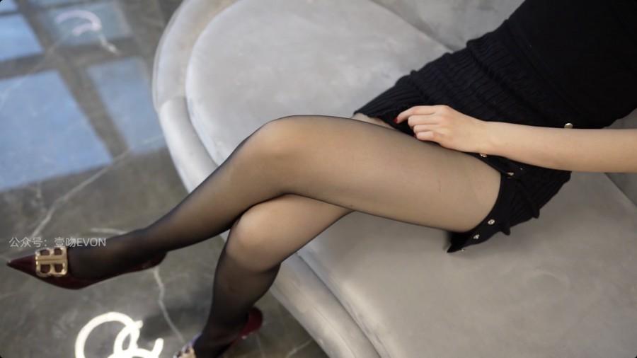 KittyWawa Video KT271 黑色紧身裙