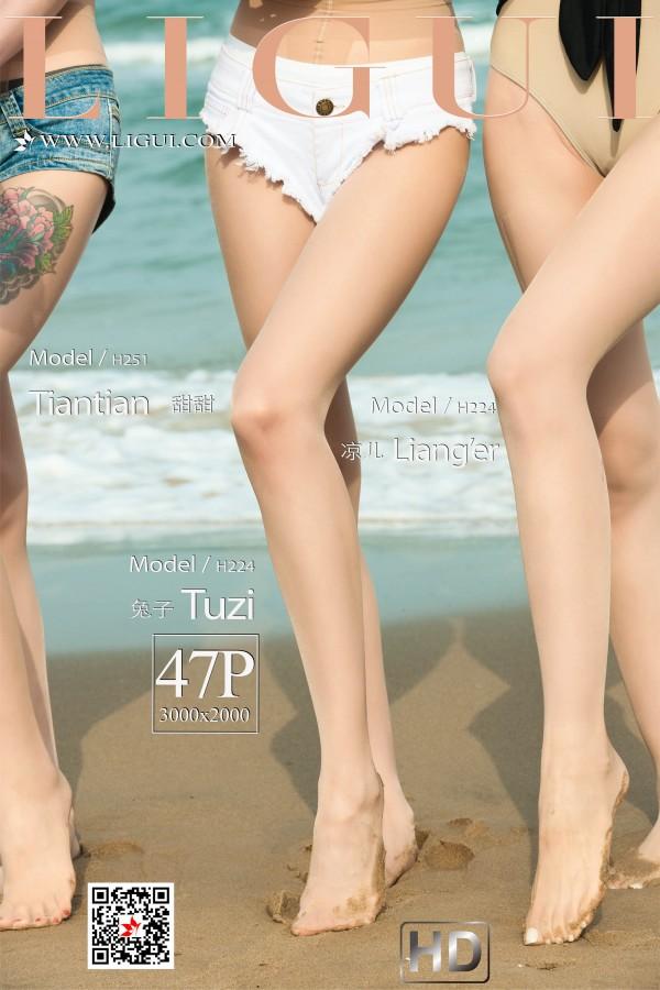 Ligui 《双生花》 の 沙滩激情