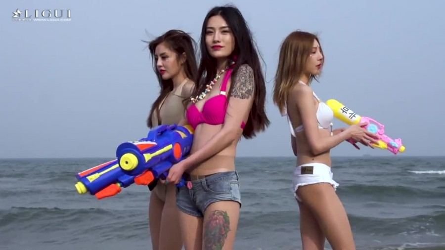 Ligui HDV. 《双生花》 の 沙滩激情